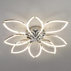 Светодиодный потолочный светильник Eurosvet Fiona 90092/8 хром