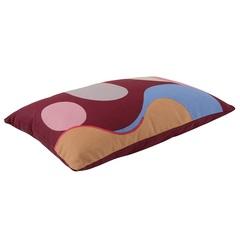 Подушка декоративная из хлопка с авторским принтом из коллекции Freak Fruit, 30х50 см Tkano TK20-CU0008