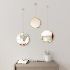 Зеркала декоративные Dima круглые латунь Umbra 1013877-104