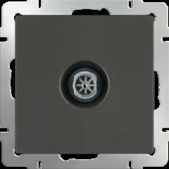 ТВ-розетка оконечная  (серо-коричневый) WL07-TV Werkel