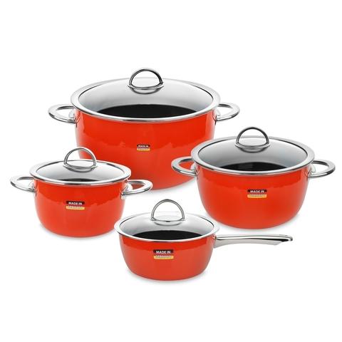 Набор посуды из 4 предметов KOCHSTAR NEO арт. ORANGE-2
