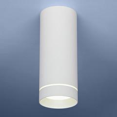 Накладной потолочный светодиодный светильник DLR022 12W 4200K белый матовый Elektrostandard