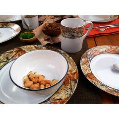 Тарелка закусочная 22 см Corelle Woodland Leaves 1109568