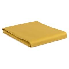 Простыня детская из сатина горчичного цвета из коллекции Essential, 120х170 см Tkano TK20-KIDS-SH0003