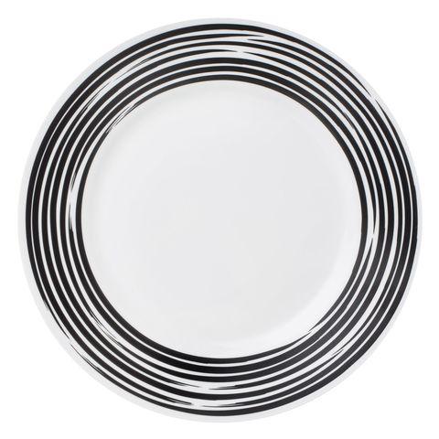 Тарелка закусочная 22 см Corelle Brushed Black 1118425