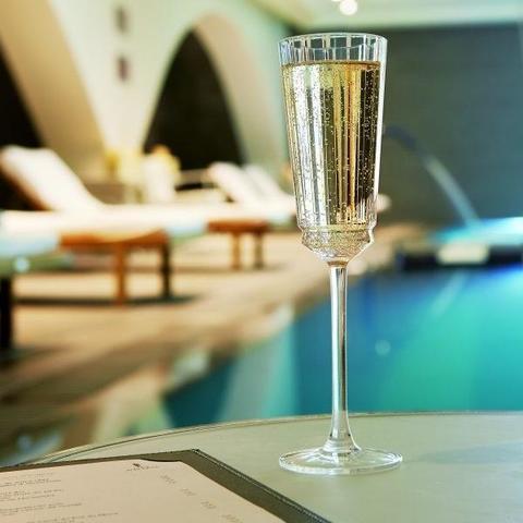Набор из 6 бокалов для шампанского 170мл Cristal d'Arques Macassar L6588