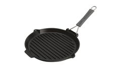 Сковорода для гриля Staub круглая, черная, с силиконовой ручкой, 27 см 1202023