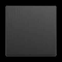 Клавиша для выключателя перекрестного (графит рифленый) WL04-SW-1G-C-CP Werkel