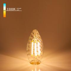 Светодиодная лампа Свеча витая F 7W 3300K E14 Elektrostandard
