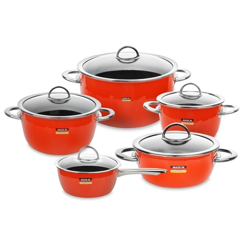 Набор посуды из 5 предметов KOCHSTAR NEO арт. ORANGE-3