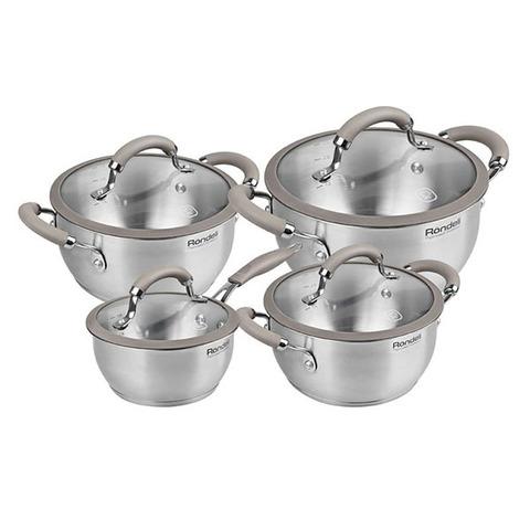 Набор посуды Rondell Balance 8 предметов RDS-756
