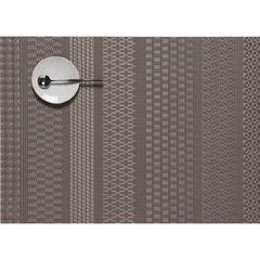Салфетка подстановочная, винил, (36х48) Topaz CHILEWICH MixedWeave Luxe арт. 100409-002