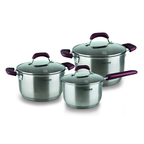 Набор посуды Rondell Bojole 6 предметов RDS-823