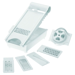 Терка c 4-мя насадками и контейнером, пластик Westmark Technicus Square арт. 11392260