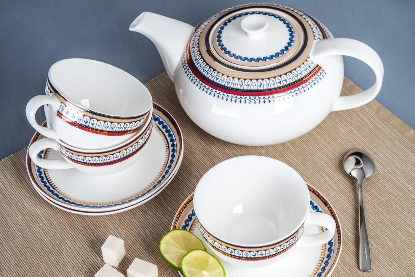 Чайный сервиз Royal Aurel 4222372 от best-kitchen.ru