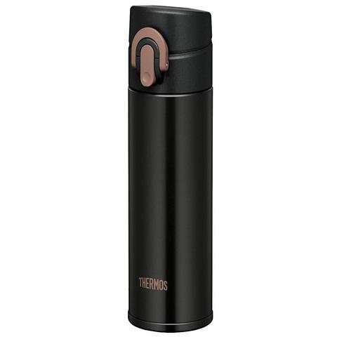 Термокружка Thermos JNI-401-MTBK суперлегкая, (0,4 литра), черная 933881
