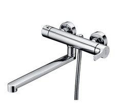 Berkel 4802L Смеситель для ванны с длинным изливом WasserKRAFT Серия Berkel 4800