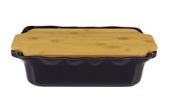 Форма с доcкой прямоугольная 37 см Appolia Cook&Stock EGGPLANT 131037009