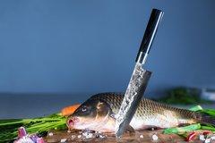 Нож кухонный Сантоку 182 мм Samura BLACKSMITH SBL-0095/K