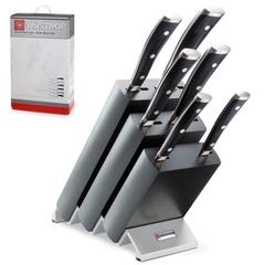 Набор из 6 кухонных ножей и подставки WUSTHOF Classic Ikon арт. 9876 WUS