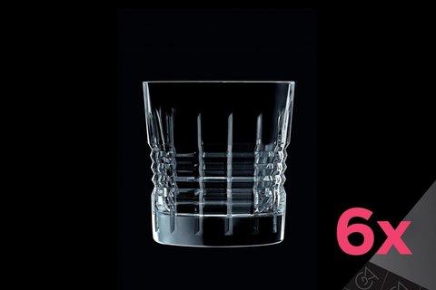 Набор из 6 низких стаканов 320мл Cristal d'Arques Rendez-Vous L6630
