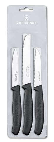 Набор Victorinox кухонный, 3 предмета, черный MV-6.7113.3