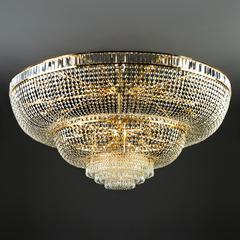 Потолочная хрустальная люстра большого диаметра Bogate's Solara 360 Strotskis