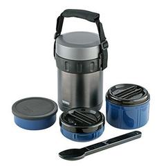 Многофункциональный термос для еды Thermos JBG-2000  синий (2 литра) 150516