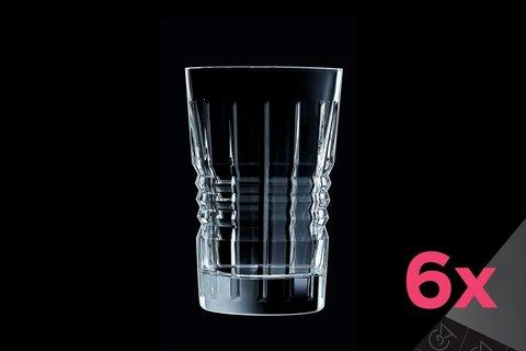 Набор из 6 высоких стаканов 360мл Cristal d'Arques Rendez-Vous L8237