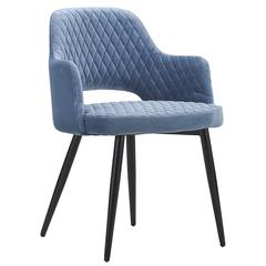 Кресло Berg Burgos, велюр, бирюзовое UCH-BUG062452