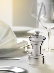 Мельница Peugeot Mignonnette для соли, 10 см, серебро, в подарочной коробке 9816-1/SME