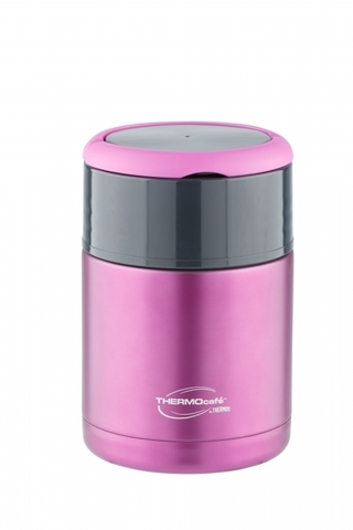 Термос для еды Thermocafe by Thermos TS-3506 (0,8 литра) розовый