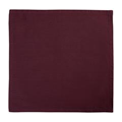 Салфетка сервировочная бордового цвета из коллекции Wild, 45х45 см Tkano TK19-NA0003