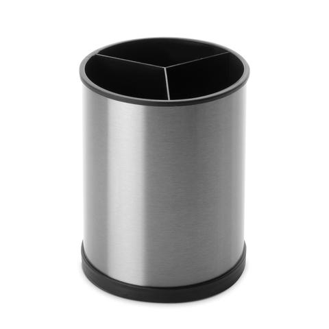 Подставка для кухонных аксессуаров 14х18 см, нержавеющая сталь, пластик IBILI Prisma арт. 797200