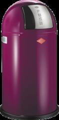 Ведро для мусора с заслонкой 50л Wesco Pushboy 175831-36