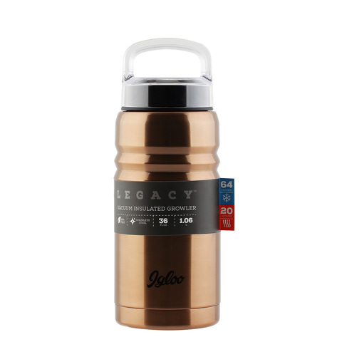 Термос Igloo Legacy 36 (1 литр) коричневый