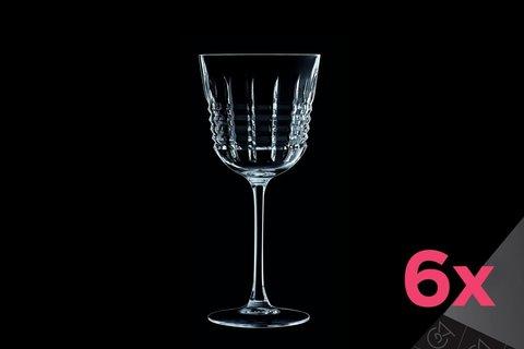 Набор из 6 бокалов для вина 350мл Cristal d'Arques Rendez-Vous L8235