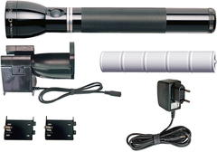 Фонарь MAGLITE Mag Charger (галоген), аккумуляторный (с заряд. устр.), черн., 32 см, в картон. короб RE5019R