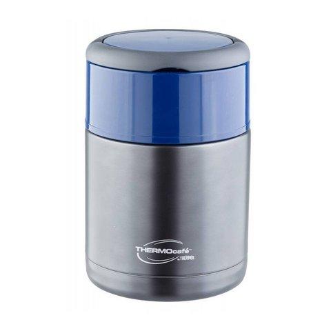 Термос для еды Thermocafe by Thermos TS-3506 (0,8 литра) голубой
