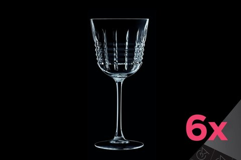 Набор из 6 бокалов для вина 250мл Cristal d'Arques Rendez-Vous L6627