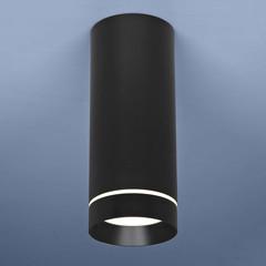 Накладной потолочный светодиодный светильник DLR022 12W 4200K черный матовый Elektrostandard