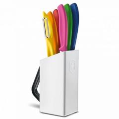Набор ножей Victorinox стальной, ассорти подар.коробка 6.7127.6L14