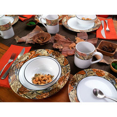 Тарелка обеденная 27 см Corelle Woodland Leaves 1109567