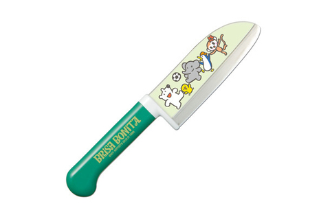 Нож кухонный детский стальной Сантоку Tojiro Brisa Bonita BB-4