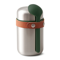 Термос для горячего Black+Blum Food Flask оливковый BAM-FF-S010