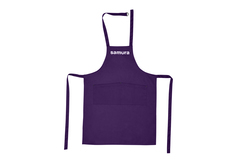 Фартук Малый 80х70 фиолетовый Samura SAP-02DV/K
