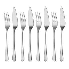 Набор столовых приборов для рыбы (8 предметов / 4 персоны) ROBERT WELCH Iona Bright арт. IONBR1084V/4