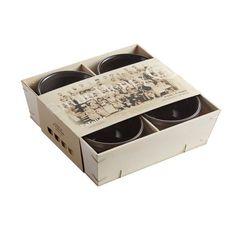 Набор рамекинов «4 оттенка» Emile Henry (цвет: оттенки серого) SG9710
