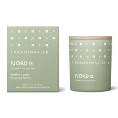Свеча ароматическая FJORD с крышкой, 65 г (новая) SKANDINAVISK SK20201