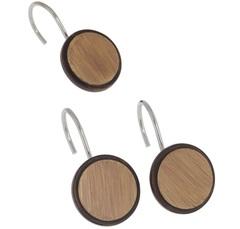 Набор из 12 крючков для шторки Carnation Home Fashions Buttons PHP-BT